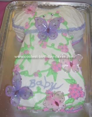 Wilton Butterfly Cake Decorating Ideas : 17 Best images about baby shower cake ideas on Pinterest ...