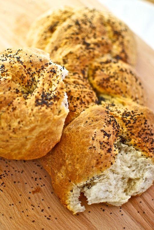 Pan trenzado con semillas de amapola, receta turca con Thermomix « Thermomix en el mundo