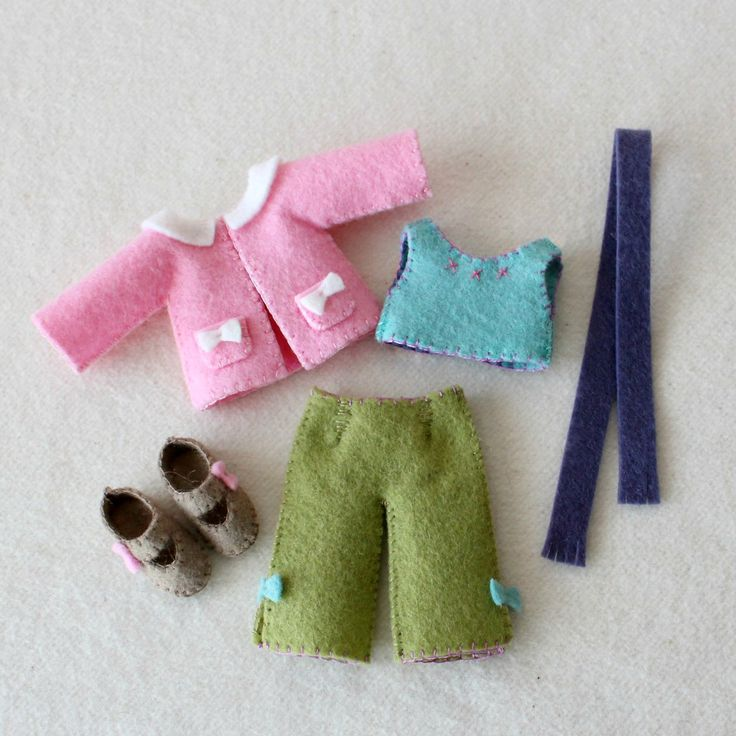 Gingermelon Dolls New Pattern Giveaway Felt Mini