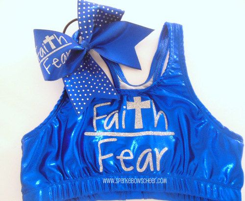 Hey, I found this really awesome Etsy listing at http://www.etsy.com/listing/156061696/faith-over-fear-metallic-sports-bra-and