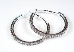 Bildresultat för stora ringar örhängen