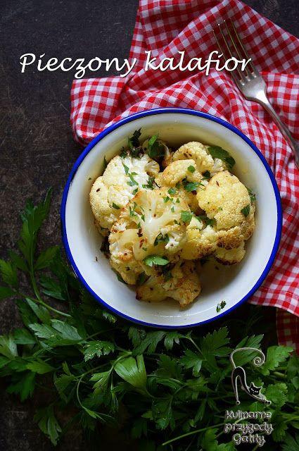 Kulinarne przygody Gatity: Pieczony kalafior