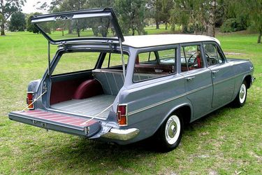 1964 Holden Special Station Wagon. Made in Australia by: General Motors Holden, Melbourne, Victoria. v@e.