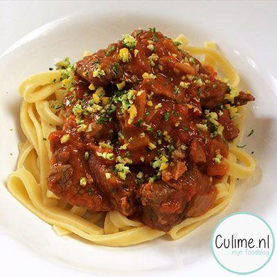 Italiaans stoofvlees met tomaten | Culime.nl