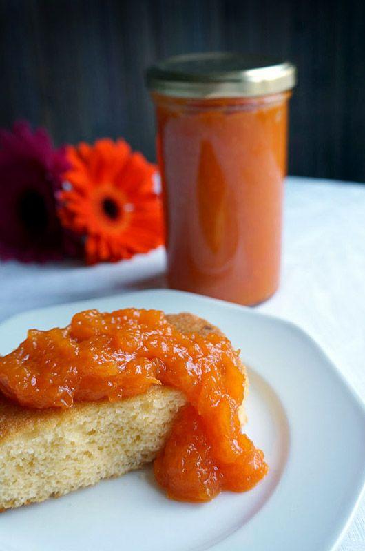 Te vas a enamorar del sabor de esta peculiar mermelada de calabaza y naranja.