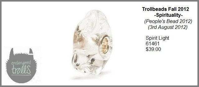Trollbeads Fall 2012 Spirituality Collection - Spirit Light