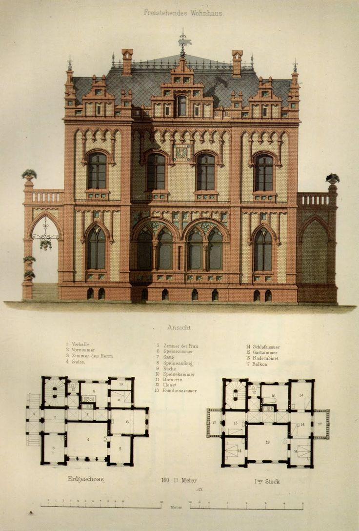 German House Designs: 225 Best Images About German Historismus Buildings On
