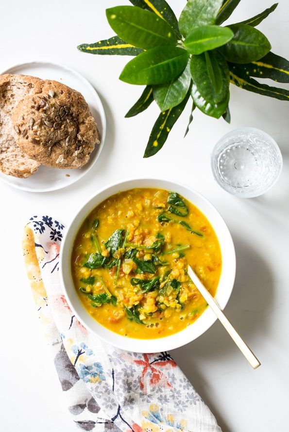 Glowing Spiced Lentil Soup — Oh She Glows