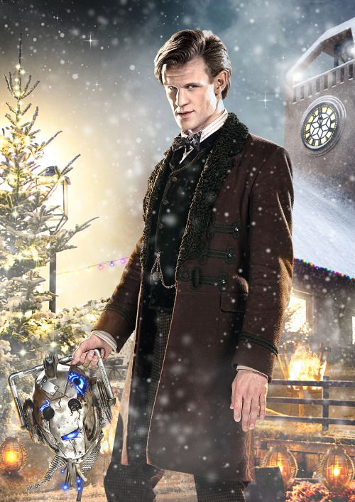 """bbcamerica: """" New images from the Doctor Who Christmas special, Doctor Who: The Time of the Doctor. This is Matt Smith, The Eleventh Doctor's final episode. The Time of the Doctor premieres December 25th at 9/8c on BBC America. Keep an eye on your..."""