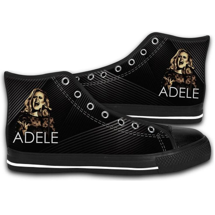 ADELE 2017 TOUR THE FINALE HIGH TOP CANVAS SHOES MEN'S & WOMEN'S RUNNING   #sport,#running,#shoes,#new