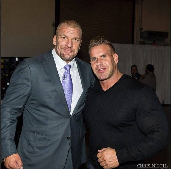 Triple H and jay