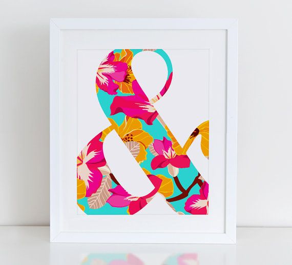 Impresión de arte Floral y comercial, impresión de arte inspiradora, instante descargar, impresión de arte Floral Art Print, Print abstracto, vivero, impresión comercial