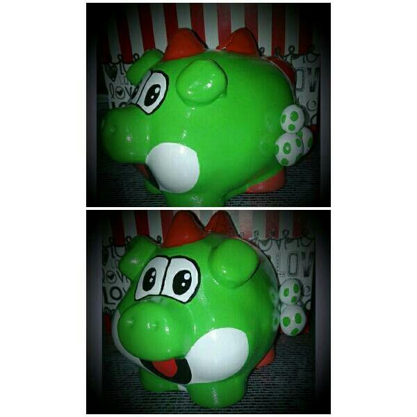 Alcancia Yoshi Mario Bross