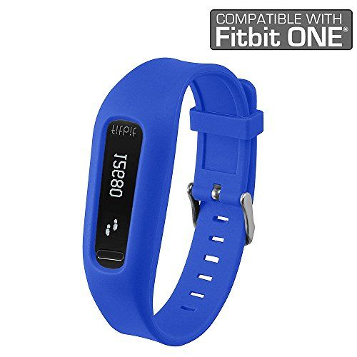 Fitbit One Band/Fitbit One Clip, HWHMH Replacement Band/Replacement Clip Holder for Fitbit One (No tracker) (Blue):   <b>Feature:</b> <br> <b>Make your loved Fitbit ONE wearable on wrist like the Fitbit Flex.</b> <br> Made from soft silicon material. <br> Nice replacement accessories for Fitbit ONE. <br> Come with fasteners to protect the band from falling off ONLY for fitbit ONE, NOT for any other models! <br> Free size that adjust by the button site.Choose different color to change m...