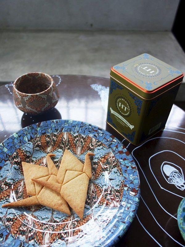 Lemon Peace Cranes and Ginger Liquorice Tea