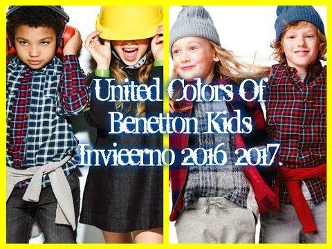United Colors of Benetton Otoño Invierno 2016 2017