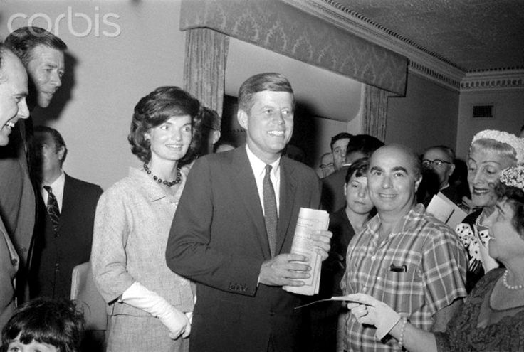 Presidential Candidate John F. Kennedy and Wife Jacqueline Senator John F. Kennedy and his wife, Jacqueline, at a press conference in New York. Kennedy said that he does not intend to step out of the Democratic presidential primary at anyone's request.  Date Photographed:July 04, 1960     ❤✿❤✿❤✿❤     http://en.wikipedia.org/wiki/United_States_presidential_election,_1960