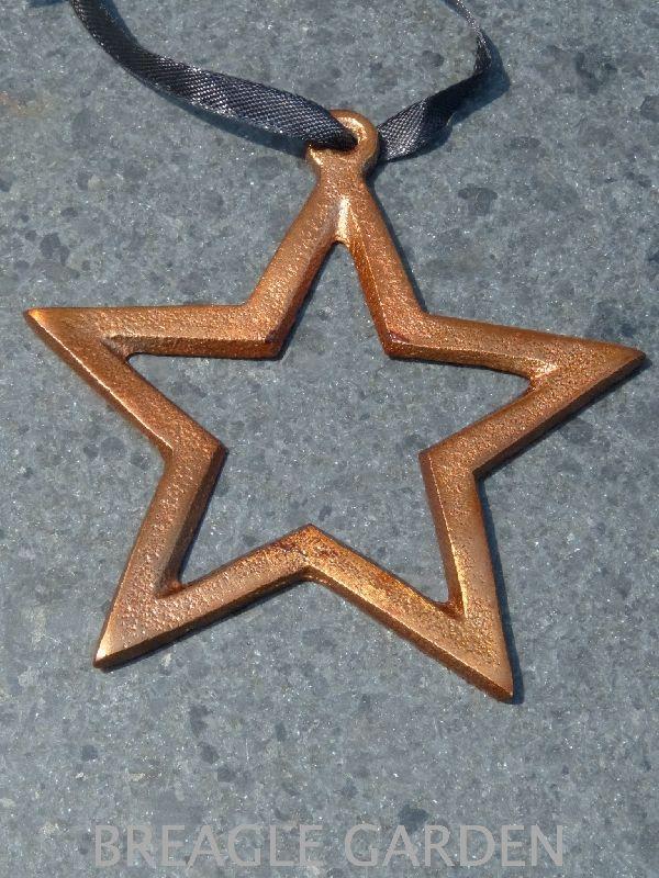 BOB koper deco hanger Star