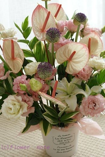 『お供えのお花・・・』 http://ameblo.jp/flower-note/entry-11328320936.html