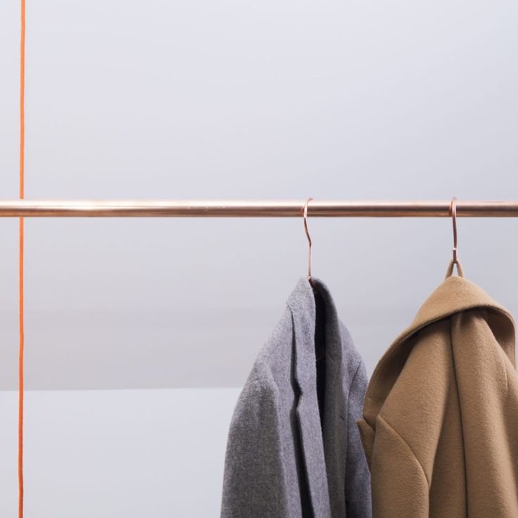 With the copper hangers KAPSTOK in three different sizes, you can design your…