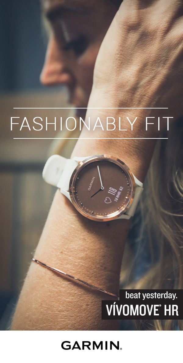 480effb9f Who said fitness couldn't be stylish? Welcome to the new vívomove HR.