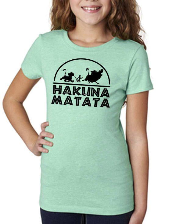 Hakuna Matata shirt,Disney Vacation tshirt,Lion King shirt,Disney Tshirt,Hakuna Matata,Girls Disney Shirt,Disney Top