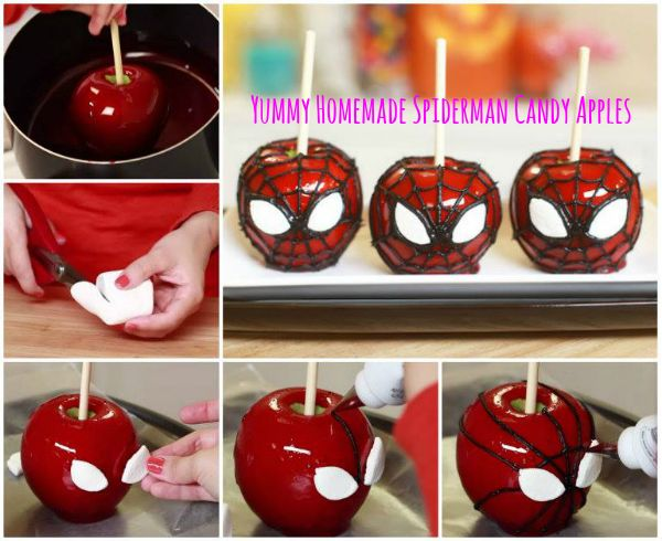 Candy apples are a tasty treat that we all splurge on at the super market but don't have to anymore. If you're looking for a simple way to dress up your party or need a super way to distract the kids, these Spider-Man candy apples are just the trick! Easy to make at home, these apples are...