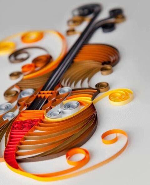 278 best quilling musical notesinstrumental ideas