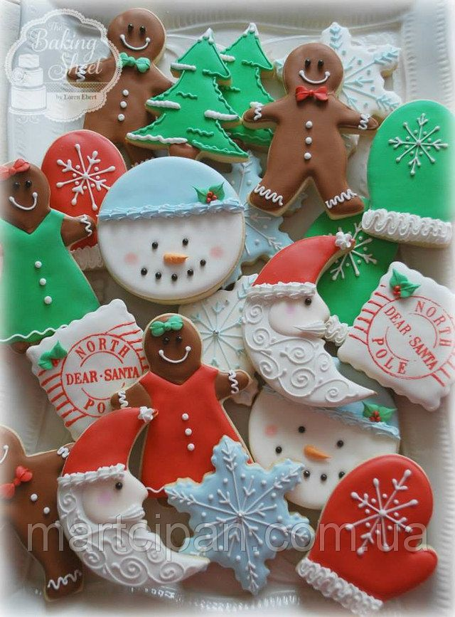 Печенье украшенное айсингом | глазурь для пряников | Pinterest