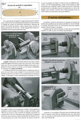 #2286 Router Lathe with Indexing Wheel - Lathe Router