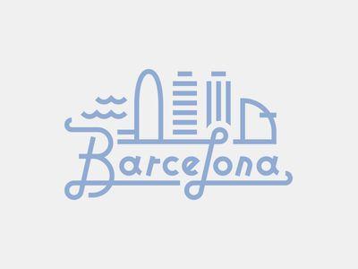 Logo Design: Skylines - Barcelona