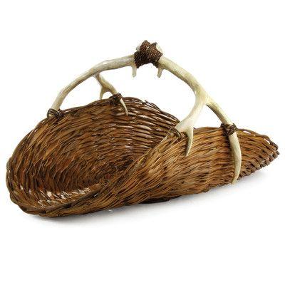 Napa Home & Garden Caribou Magazine Basket