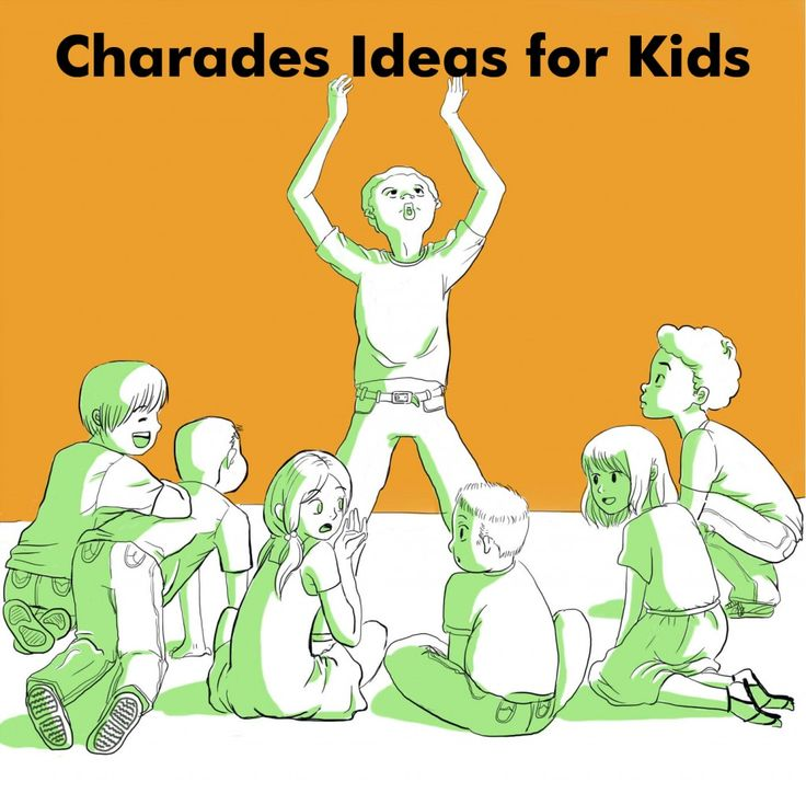 Ideas and Word List for Kids Charades | A well, Animals ...