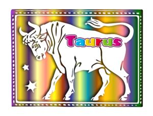 Taurus Of The Zodiac image - vector clip art online, royalty free & public domain
