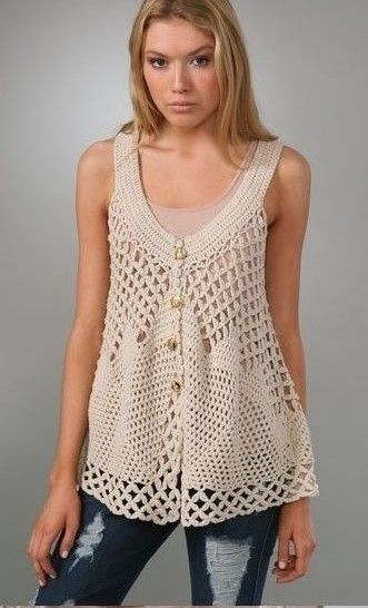 ergahandmade: Crochet Top + Diagrams