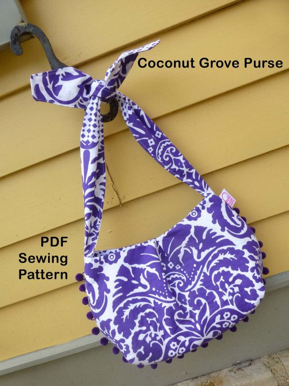 Tie Strap Shoulder Bag Pattern 86