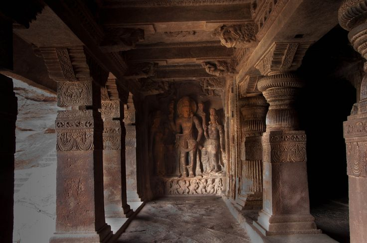 https://flic.kr/p/8NBDsf | Badami cave temple | Badami or Vatapi was the center of ancient Chalukyan glory. It is located at a distance of about 500 km from Bangalore and is a taluk in the Bagalkot district of Karnataka. It was founded in 540 A.D. by Pulakesi I(535-566 AD), an early ruler of the Chalukyas. Badami, today a sleepy little town on a red sandstone ridge. The Chalukyas are credited with some of the best traditions of Dravidian architecture including an experimental blend of older…