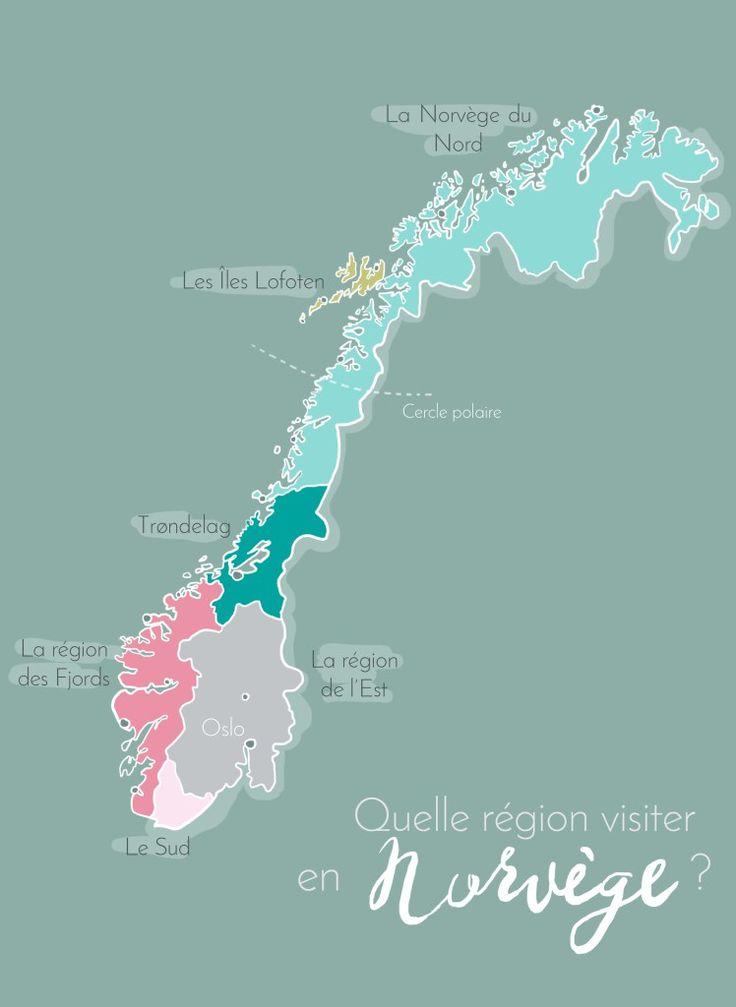 Préparer son voyage en Norvège: quelle région visiter?