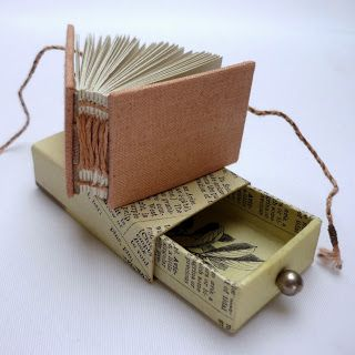 Kate Bowles Books - matchbox size -- Oh my! I LOVE this