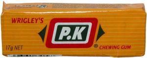 Wrigleys PK gum