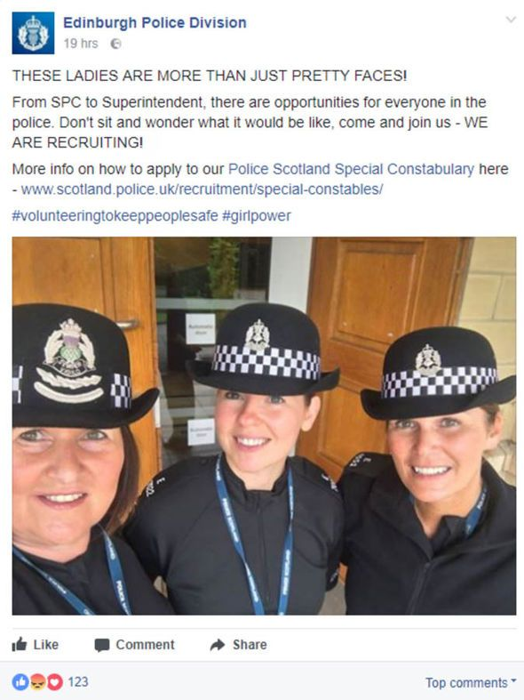 'More than just pretty faces' – Police Scotland in 'sexist' job ad row - http://buzznews.co.uk/more-than-just-pretty-faces-police-scotland-in-sexist-job-ad-row -