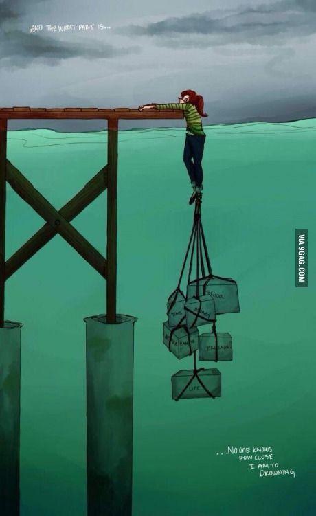 How life feels sometimes