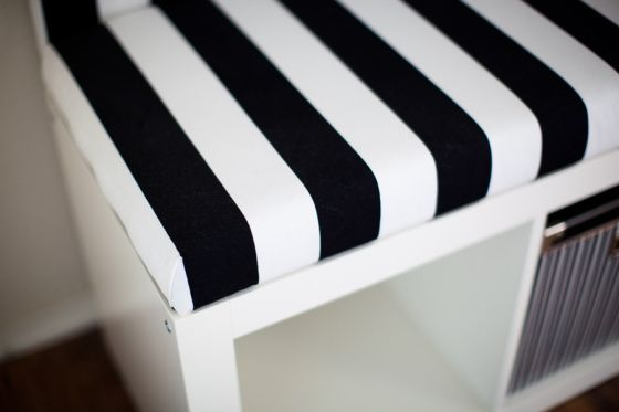 DIY Banquette Seat Ikea Hack. This actually has good instructions