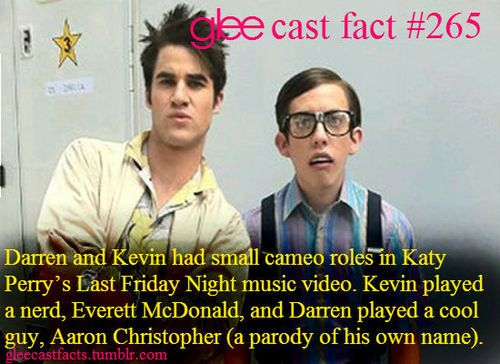 GLEE Cast Facts