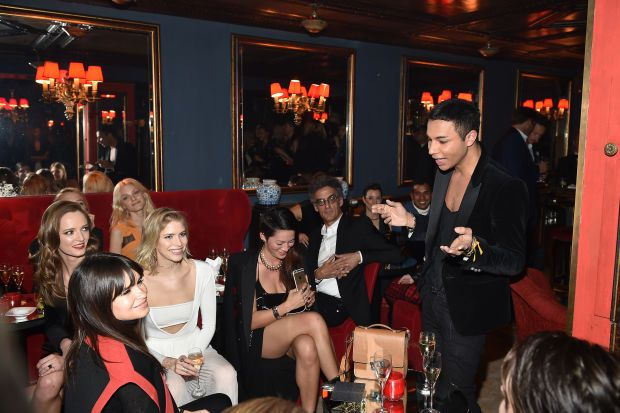 """How to pronounce designers names...""""Okay ladies, for the last time, it's RHOOS-TAIN."""" Olivier Rousteing"""