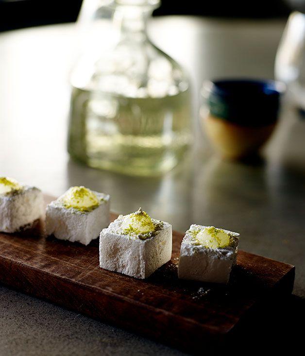 Australian Gourmet Traveller recipe for Tequila Slammer marshmallows by Sam Ward from El Publico in Perth.