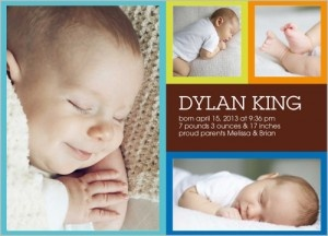 Shutterfly Coupon Code: 20 FREE Birth Announcements Expires 10/15/12!!!!!!!