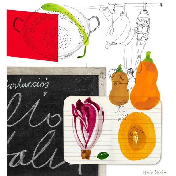 234 Best Images About Food Illustration On Pinterest