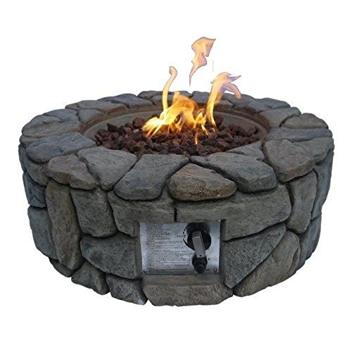 Best Elementi Fire Pits Images On Pinterest Fire Pits Fire - Concrete outdoor fireplace river rock fire bowl from restoration hardware