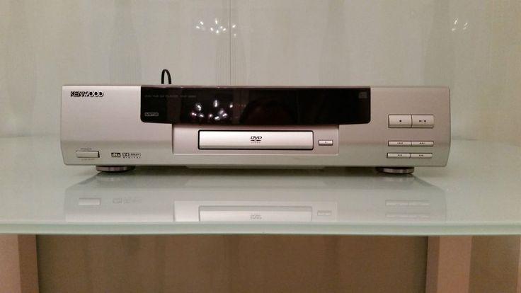 Kenwood DVD-VCD-CD Player DVF-3550 guter Zustand, Farbe Silber bzw. Champagner